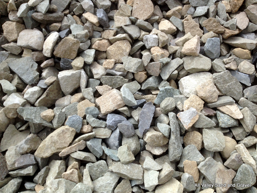 3 4 Quot Crushed Gravel : Crushed rock road materials bold